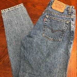 Vintage Women's Levi 17550 0291 Size 7